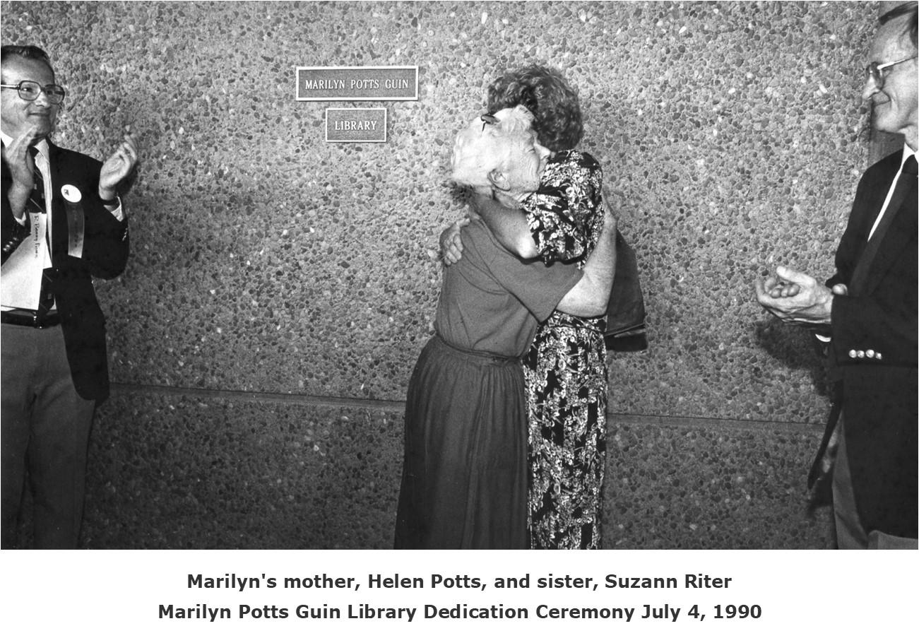 Marilyn Potts Guin Library Dedication Ceremony