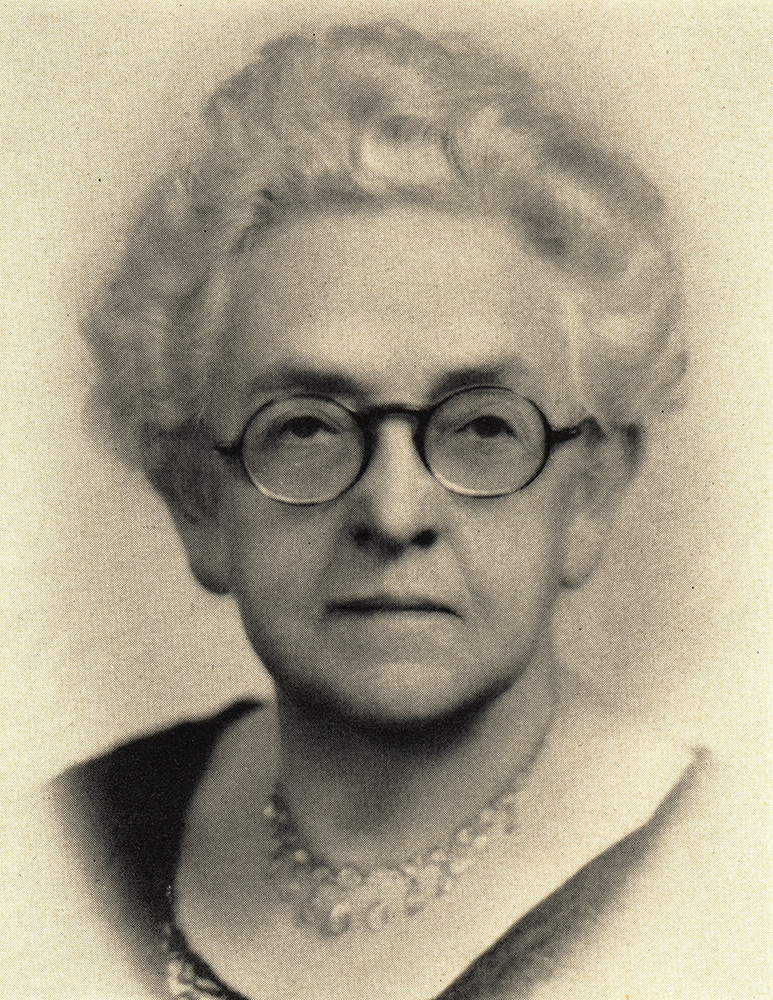 Photograph of Adelaide Brown MD