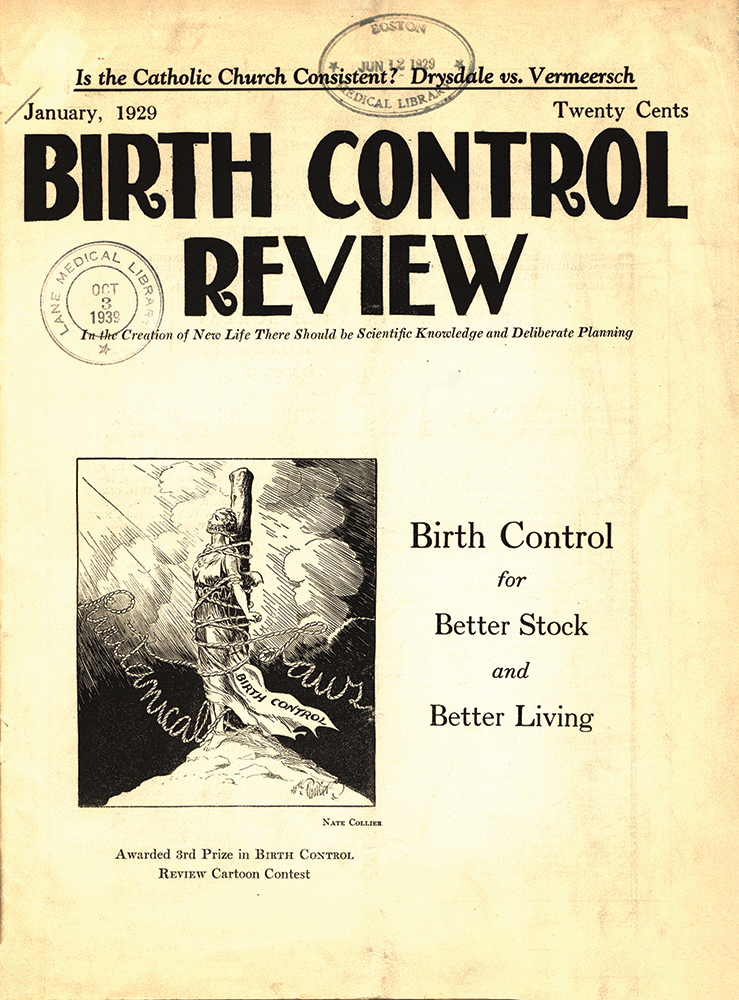 Cover of Birth Control Review