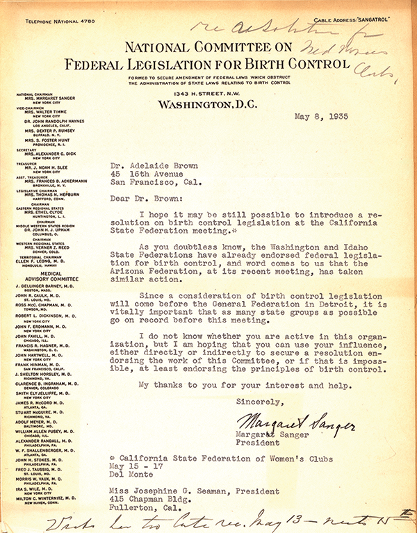 1935 Correspondence