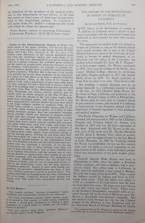 Cover of the Birth Control Review