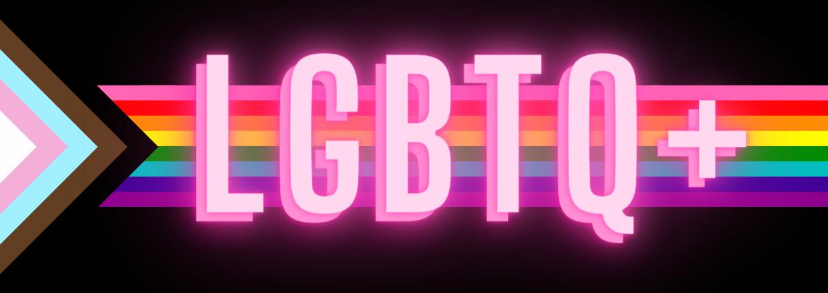 LGBTQ+ History Month Logo
