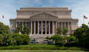 Photo of the American National Archives building