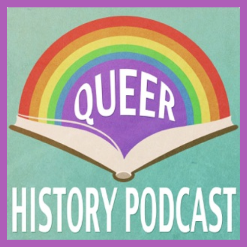 queer history podcast icon