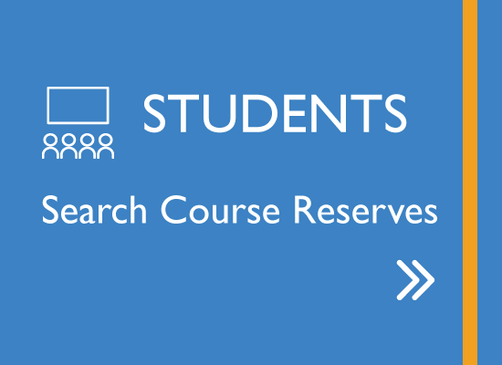 Students search Course Reserves