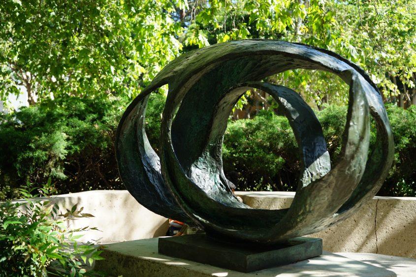 Oval Form Sculpture