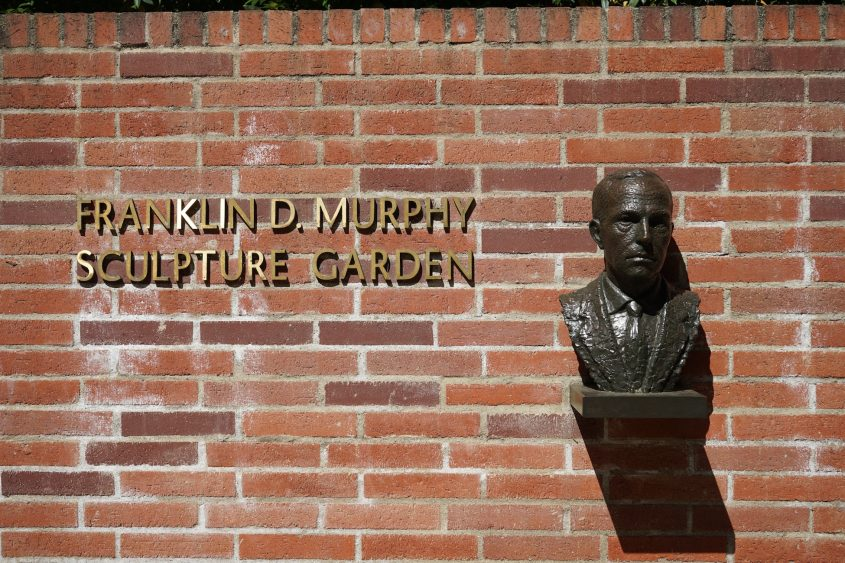 Bust of Franklin D. Murphy
