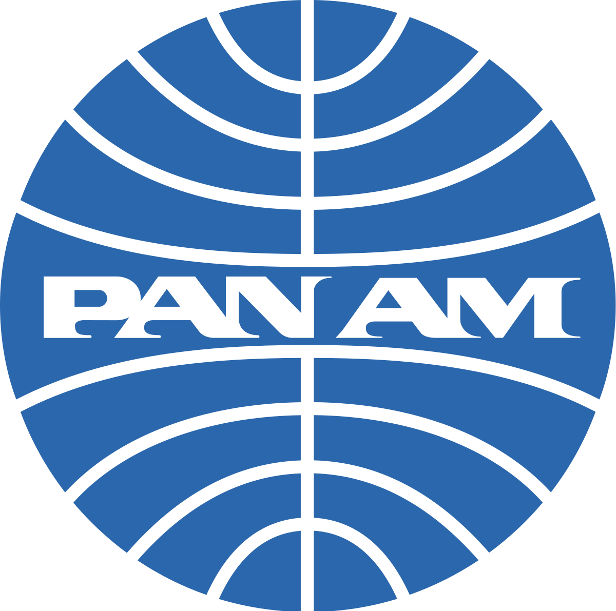 Pan American Airways' blue globe logo