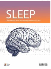 SLEEP Journal cover.
