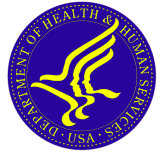 U.S. Department of Health and Human Services logo.