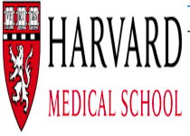 Harvard Medical School logo.