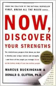 Book cover, Now Discover Your Strengths, by Michael Cunningham and Donald Clifton