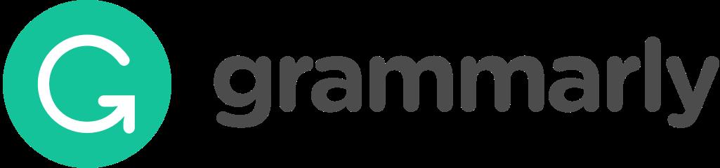Grammarly logo/link