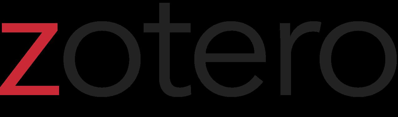 Zotero logo and link