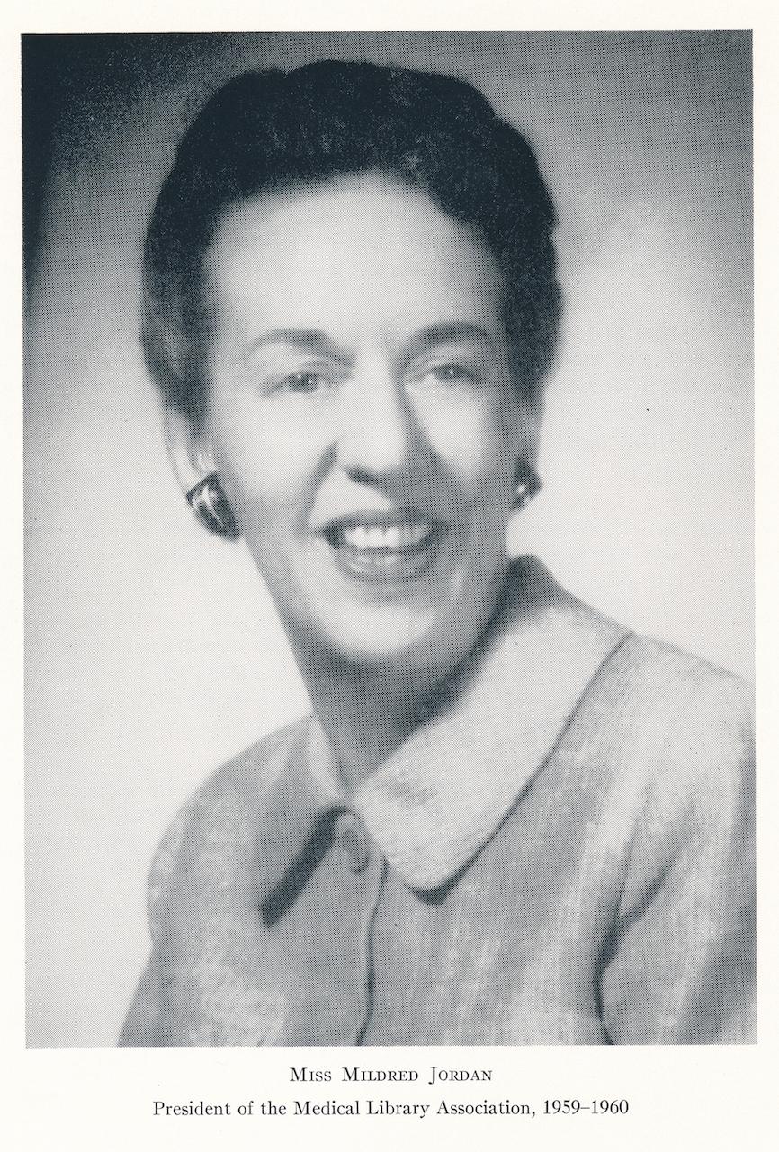 Portrait of Mildred Jordan