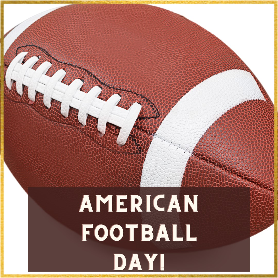 american football day facebook post