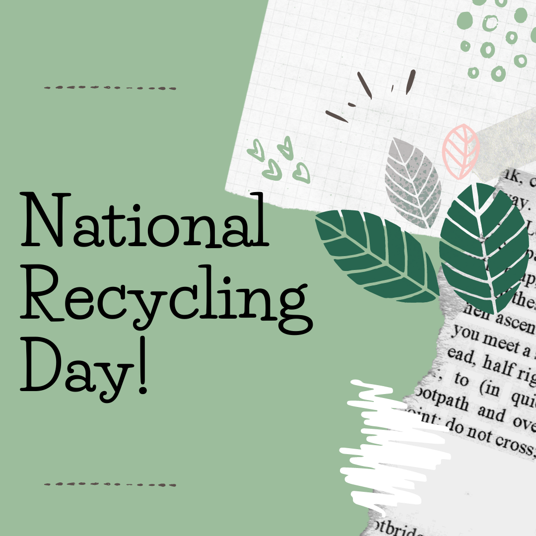 national recycling day facebook post