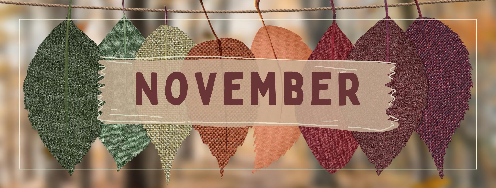 Fall November Banner