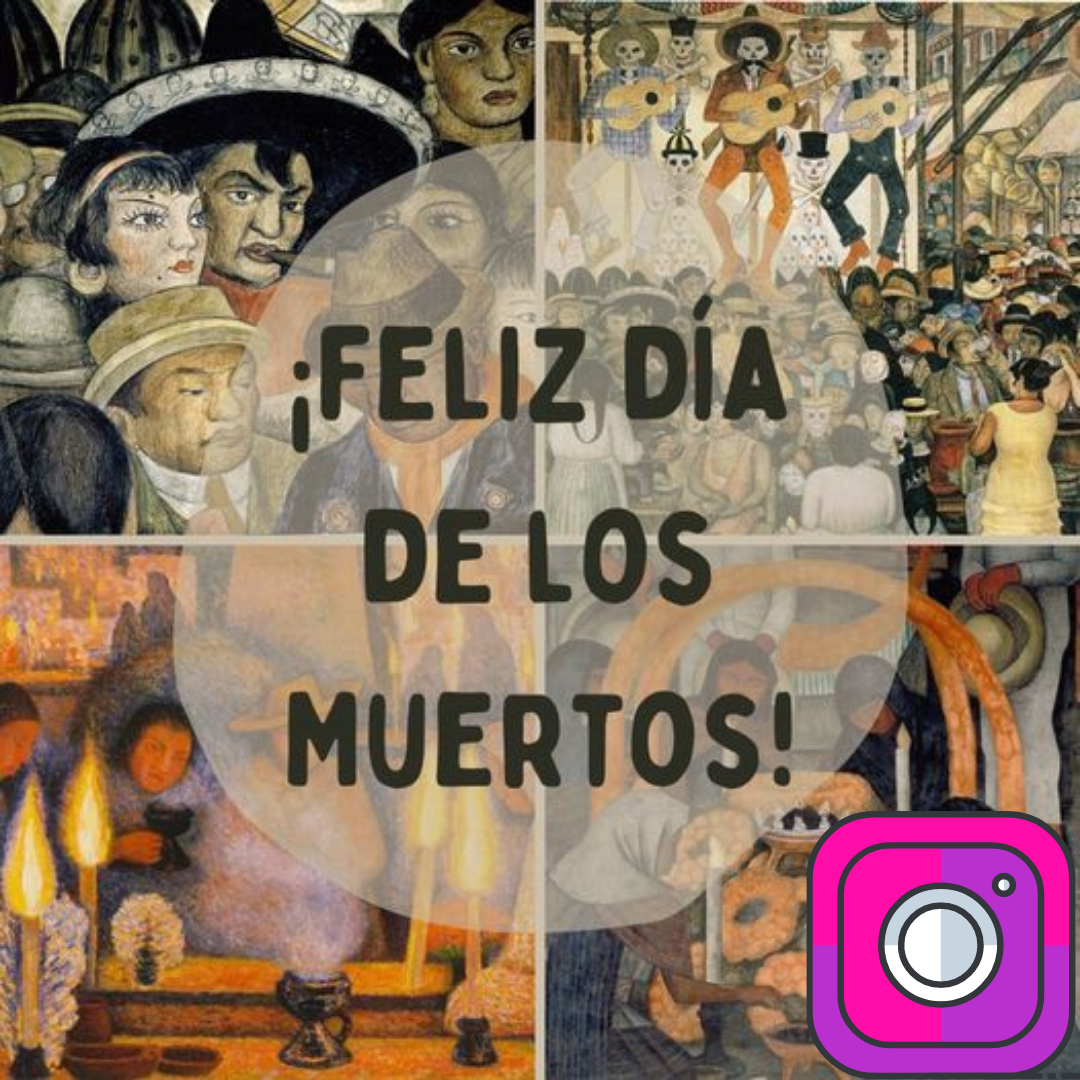day of the dead instagram post