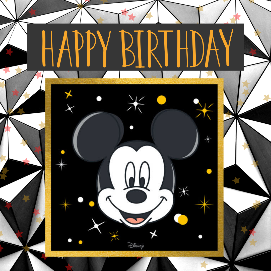 mickey mouse birthday post