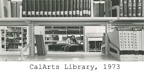 CalArts Library, 1973