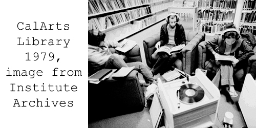 CalArts Library 1979