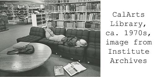 CalArts Library ca. 1970s