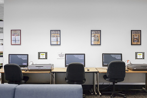 Main Library Scanners