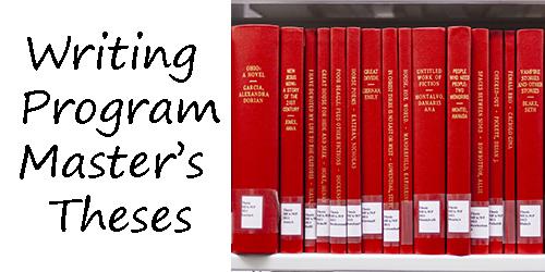 Writing Program Master's Theses