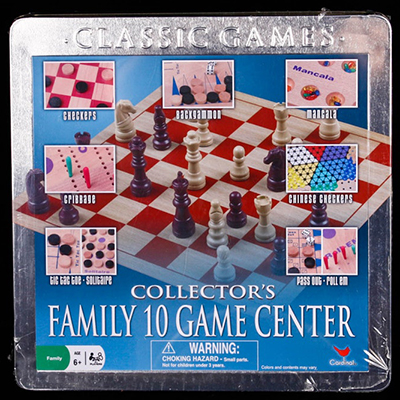 Collector's Family 10 Game Center