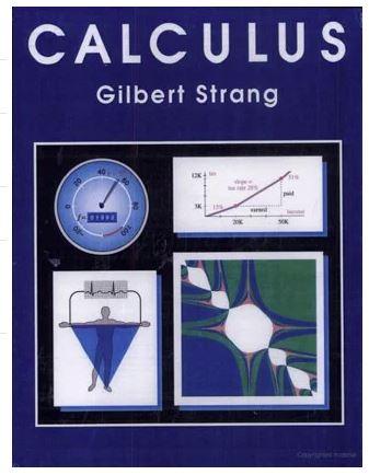 Calculus textbook - by Gilbert Strang