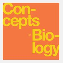 Concepts Biology Textbook Cover