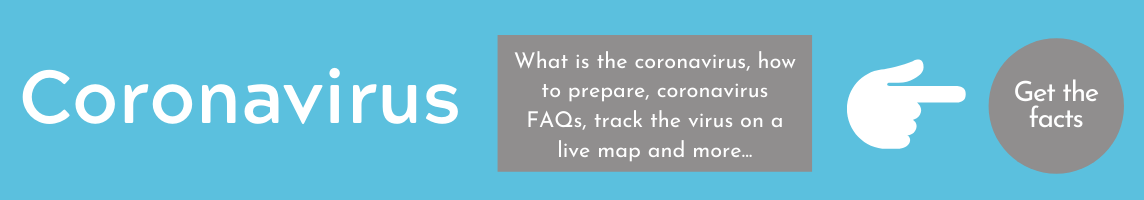 What is the coronavirus, how to prepare, coronavirus FAQs, track the virus on a live map and more.