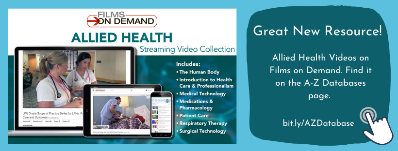 Streaming Video for Allied Health