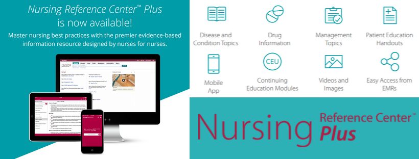 New! Nursing Reference Center Plus
