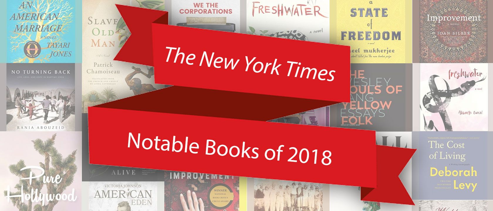 NY Times Notable Books of 2018