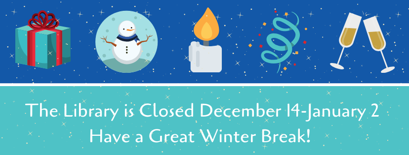 Have a Great Winter Break!