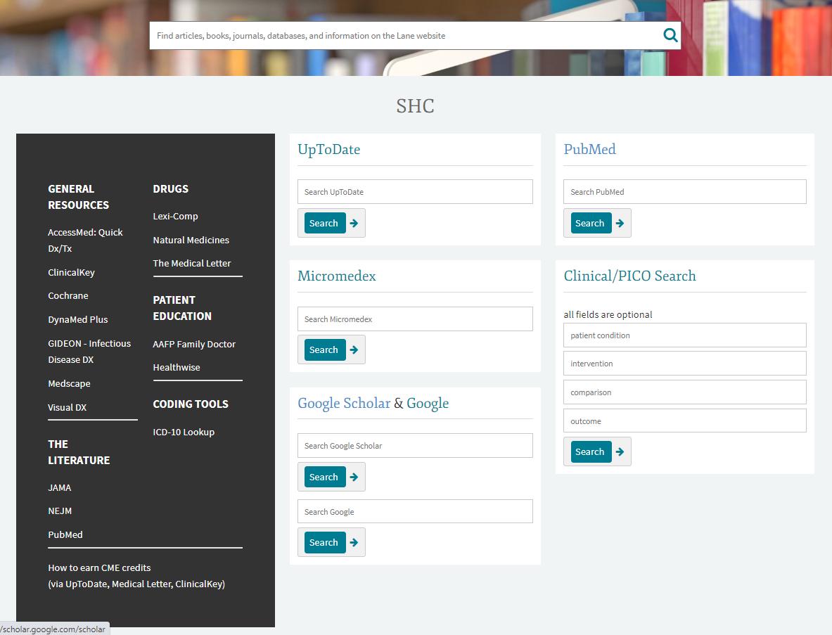SHC Portal
