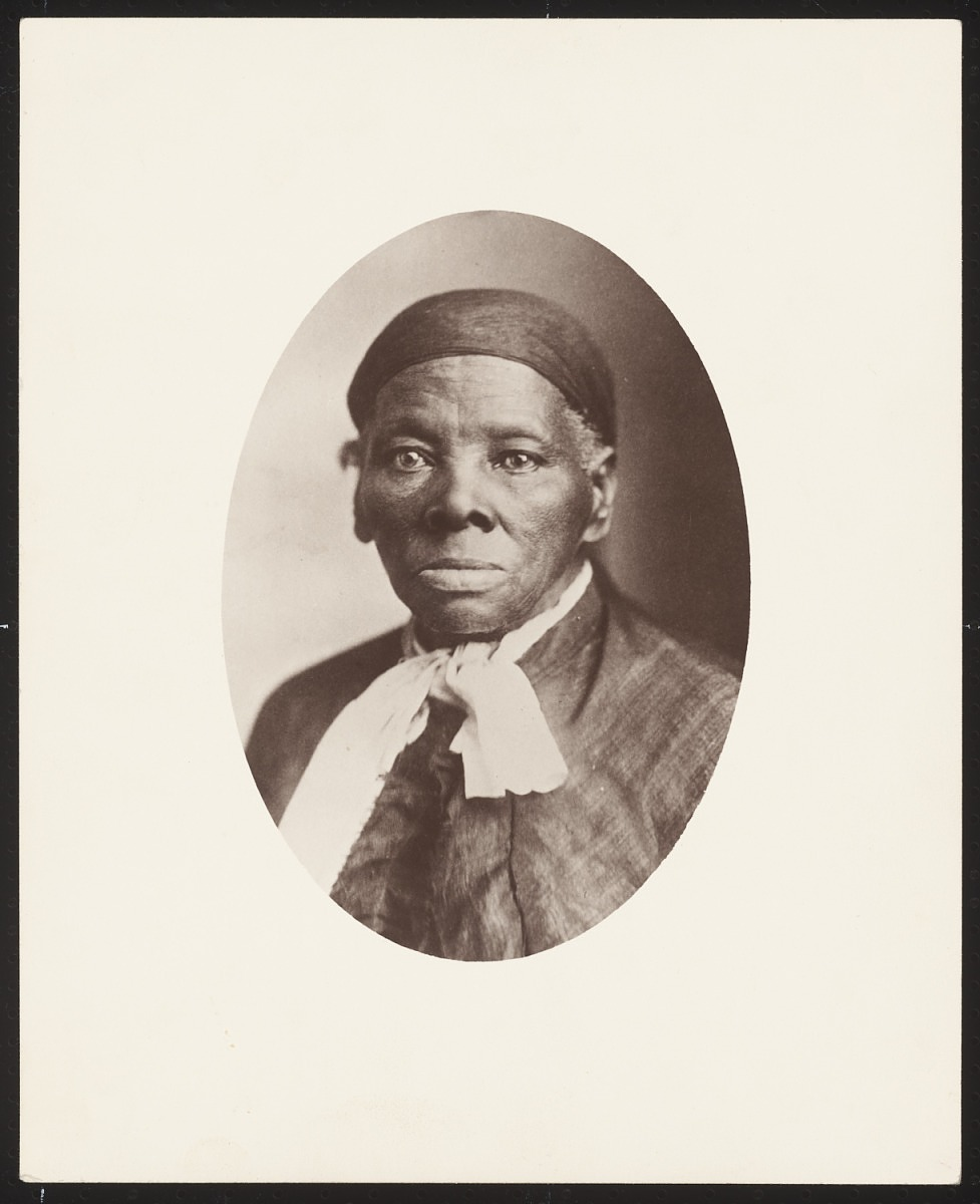 Photograph of an Older Harriet Tubman