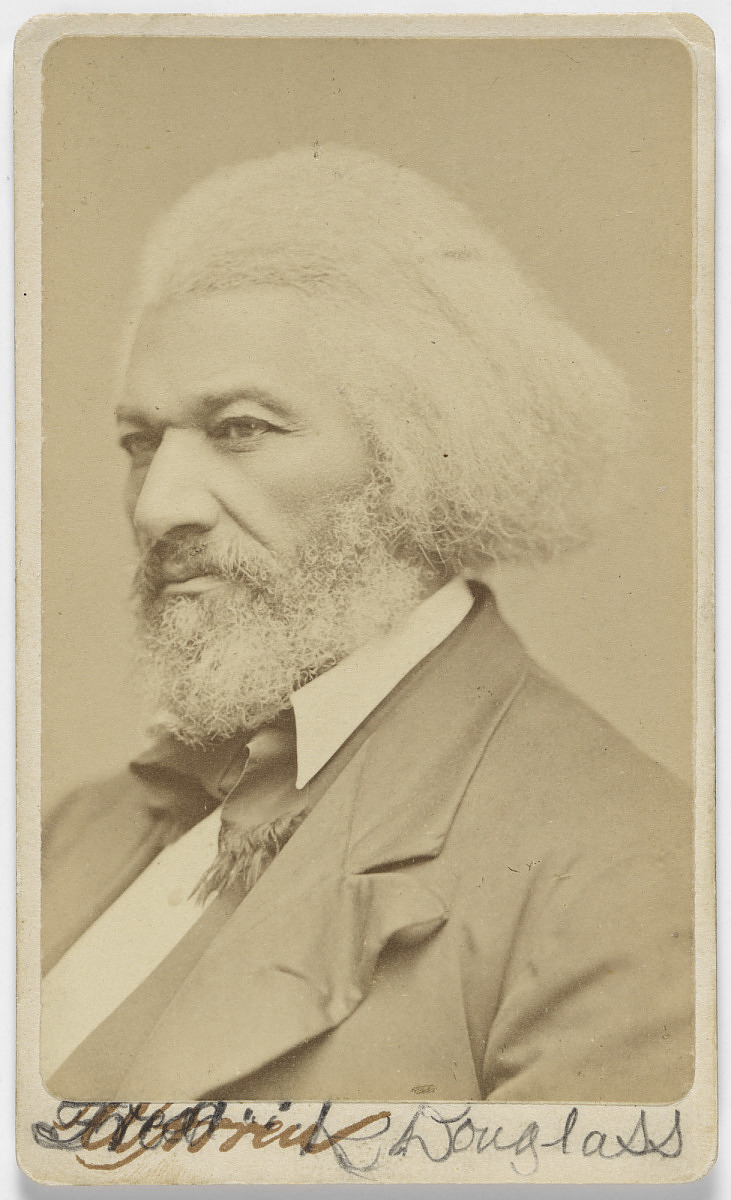 Photograph of an Older Frederick Douglass