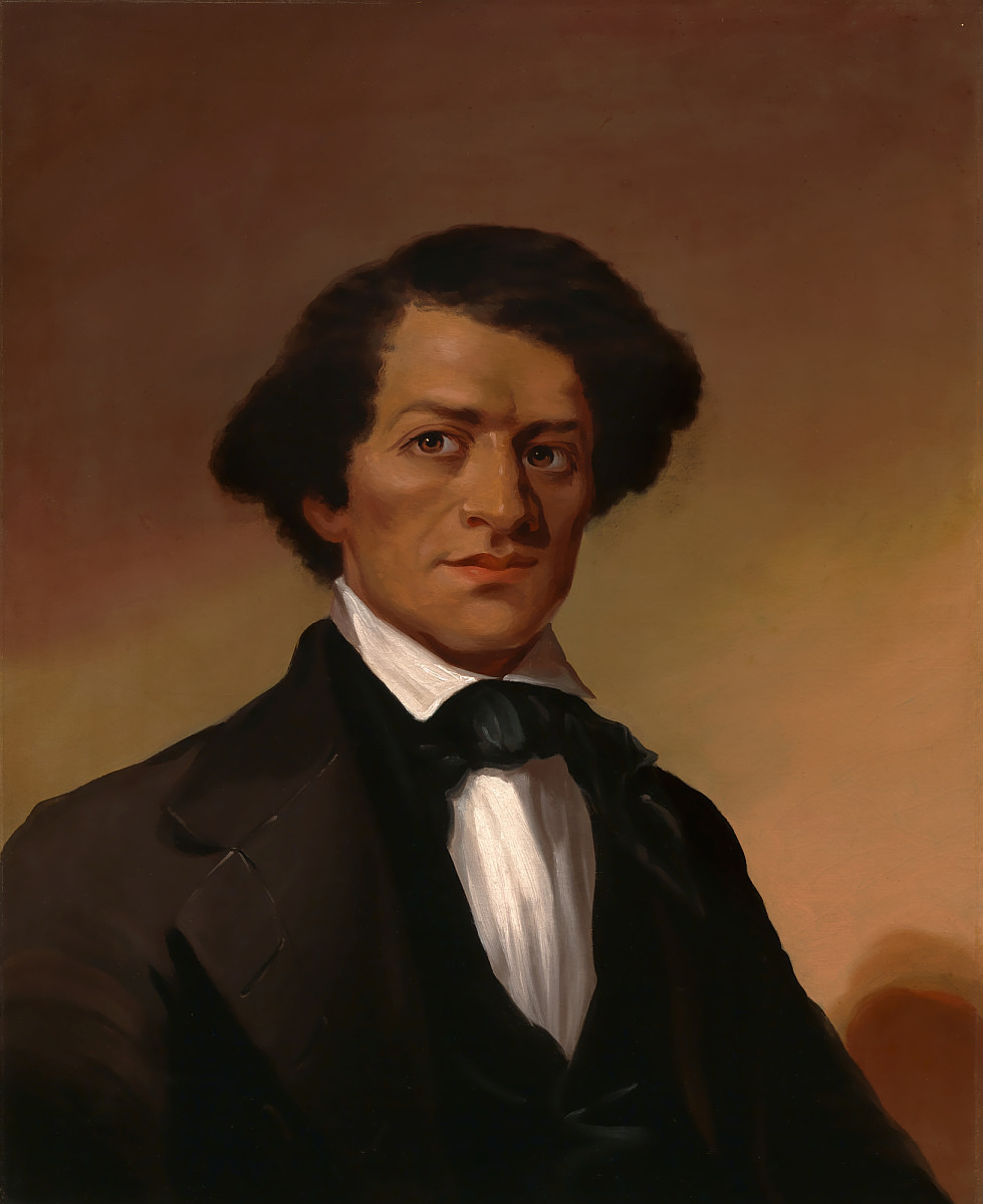 Painting of Frederick Douglass