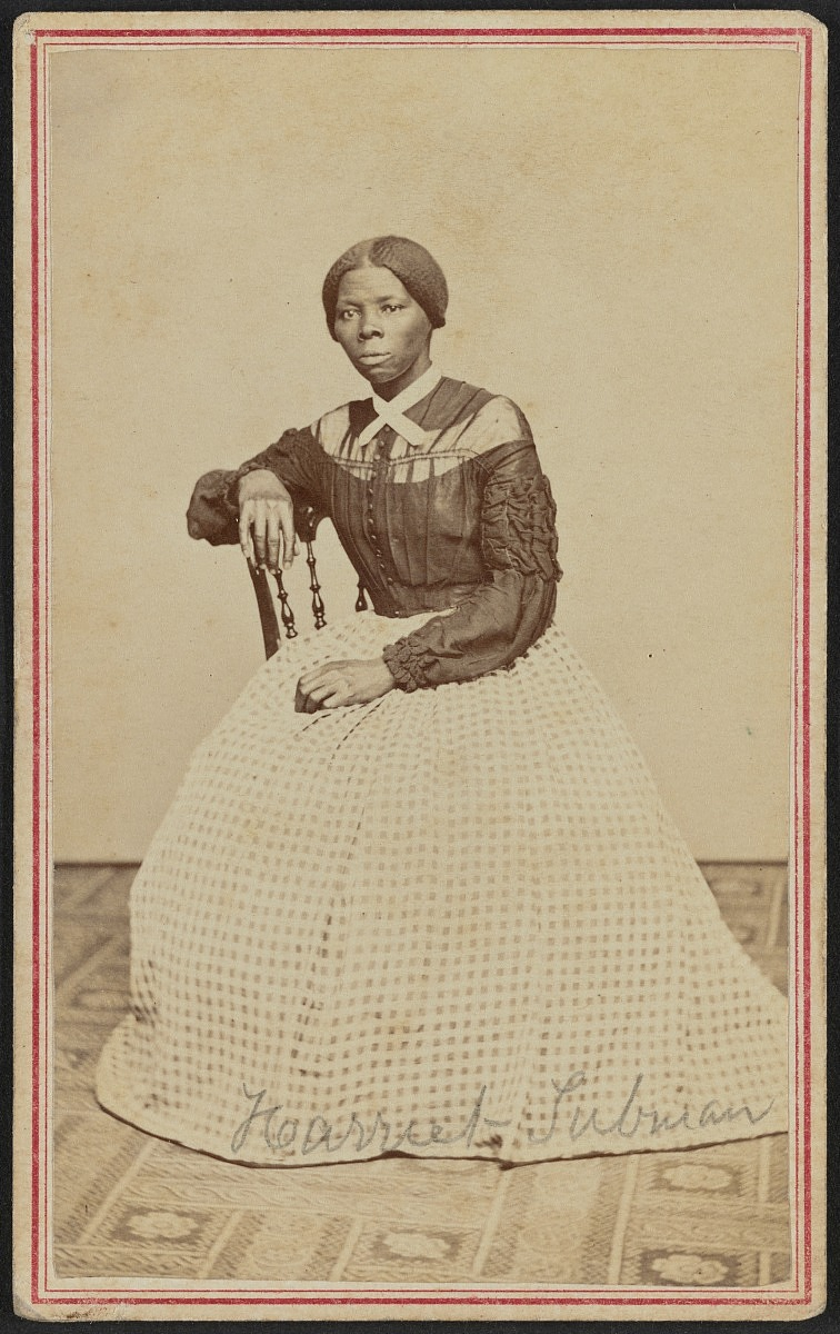Photograph of a Young Harriet Tubman