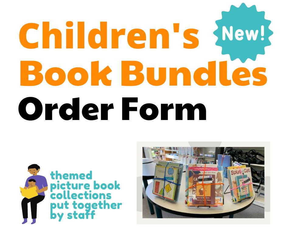 Children's Book Bundles Order Form