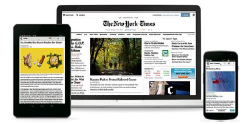 New York Times on multiple devices