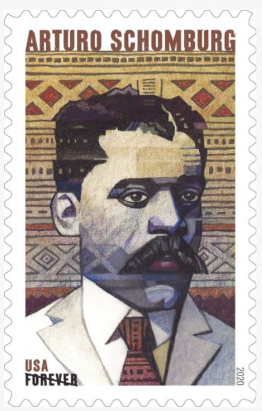 Arturo Schomburg commemorative stamp