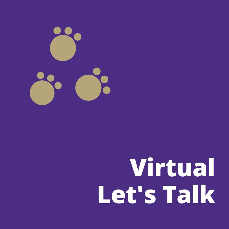 Virtual Let's Talk