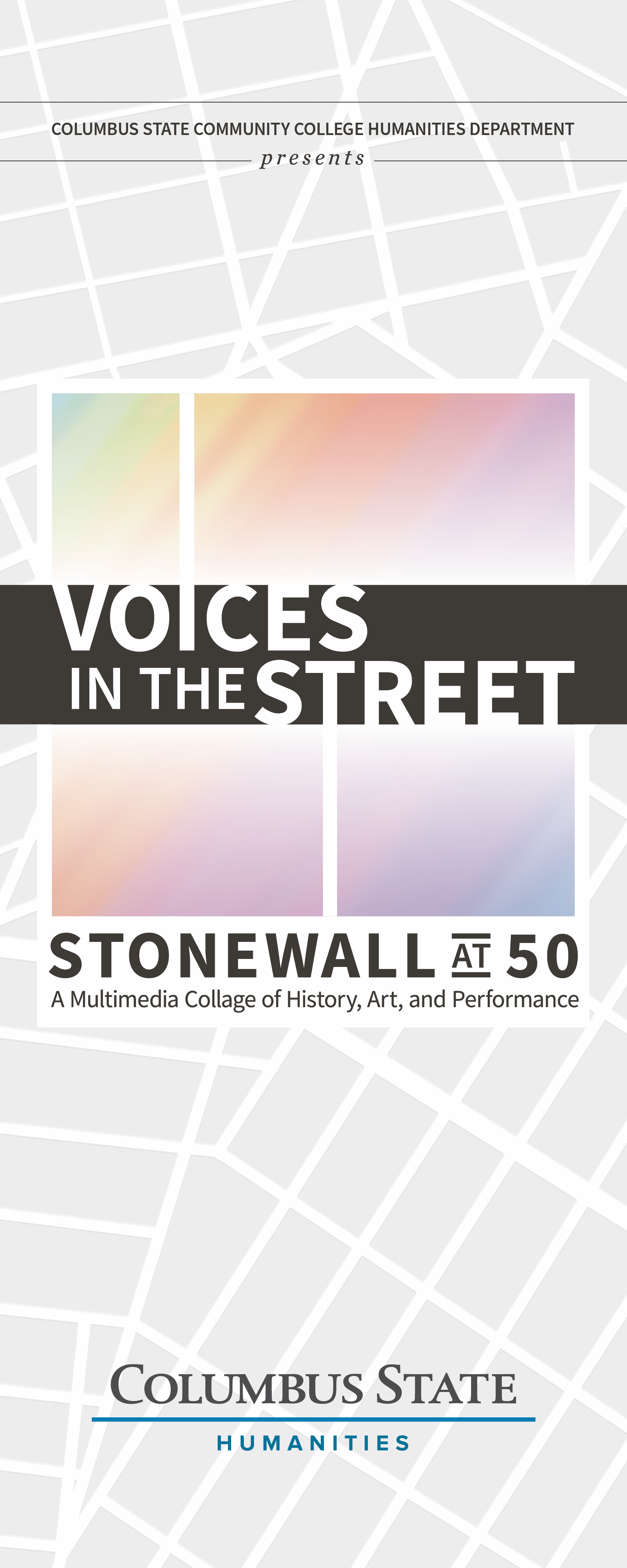 Voices in the Street: Stonewall at 50 Introduction Poster
