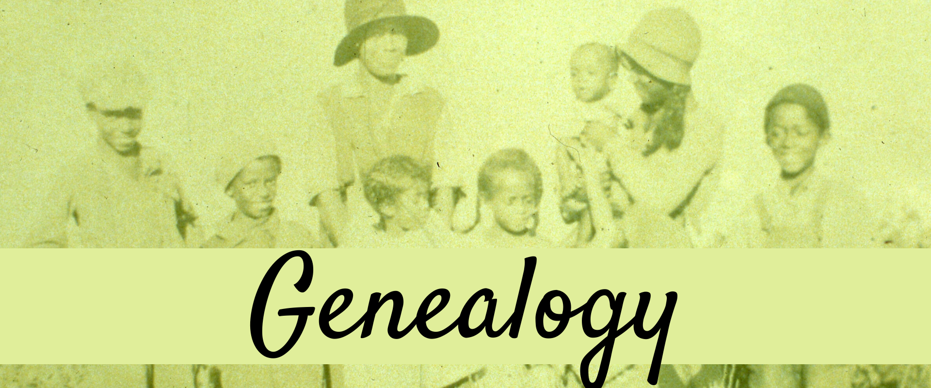 Genealogy Cover Photo