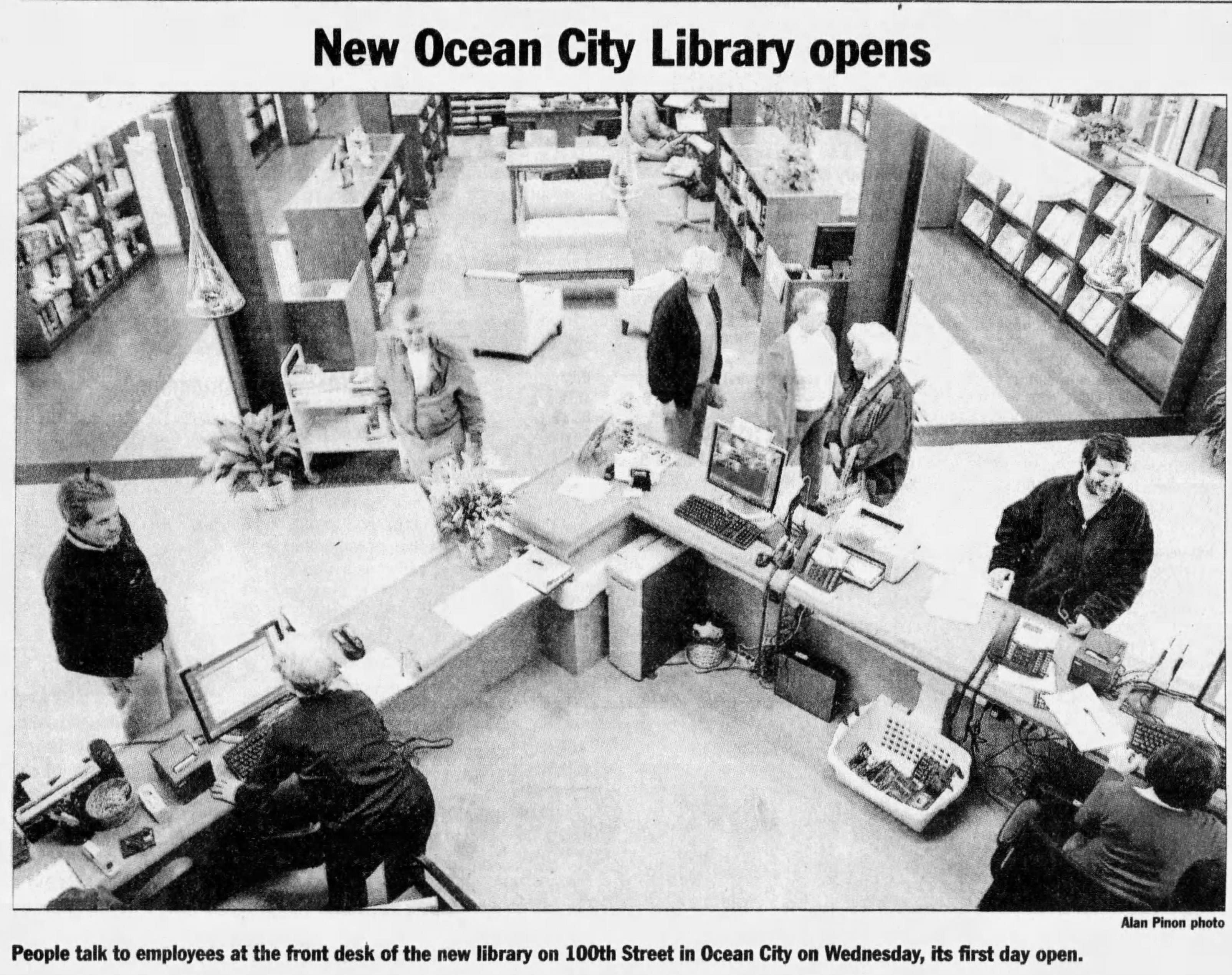 Ocean City Library Opens