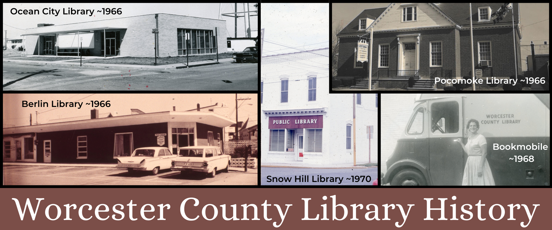 Worcester County Library History